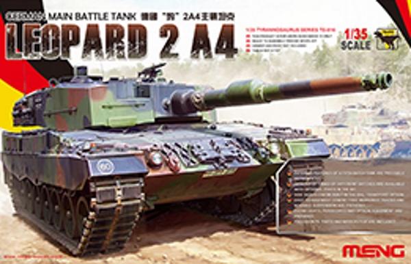Модель Meng 1/35 Немецкий Основной Боевой Танк