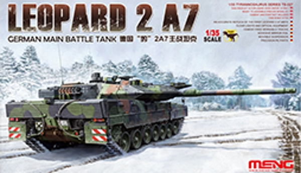 Meng 1/35 GERMAN MAIN BATTLE TANK LEOPARD 2 A7