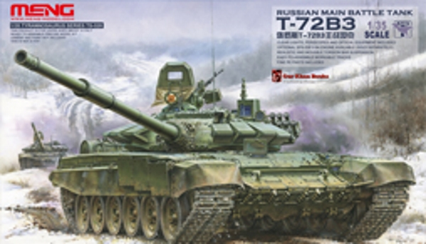Сборная модель Meng 1/35 T-72B3 Russian Main Battle Tank