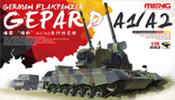 Сборная модель Meng 1/35 German Flakpanzer Gepard A1/A2
