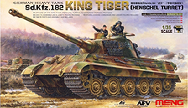 Сборная модель Meng 1/35 German Heavy Tank Sd.Kfz.182 King Tiger (Henschel