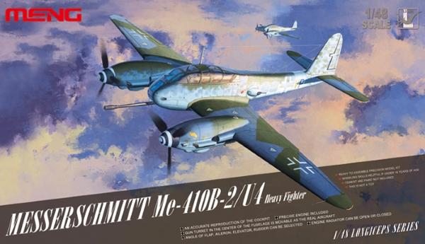 Сборная модель Meng Model 1/48 Самолет Messerschmitt Me 410B-2/U4
