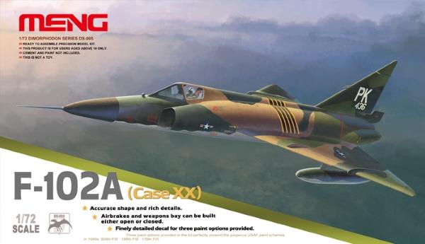 Модель Meng 1/72 Самолет Convair F-102A Delta Dagger (Case XX)