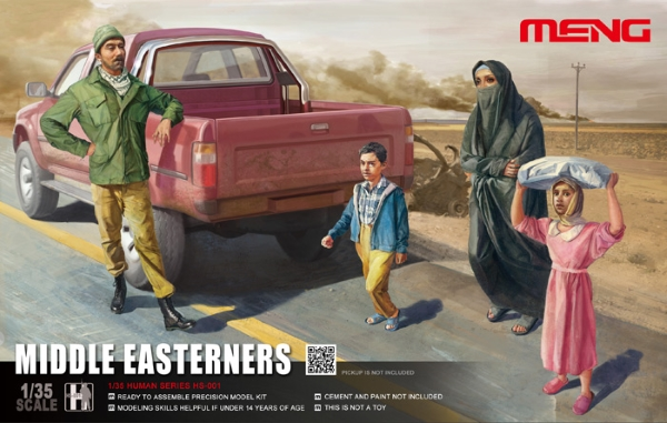 Meng 1/35 MIDDLE EASTERNERS