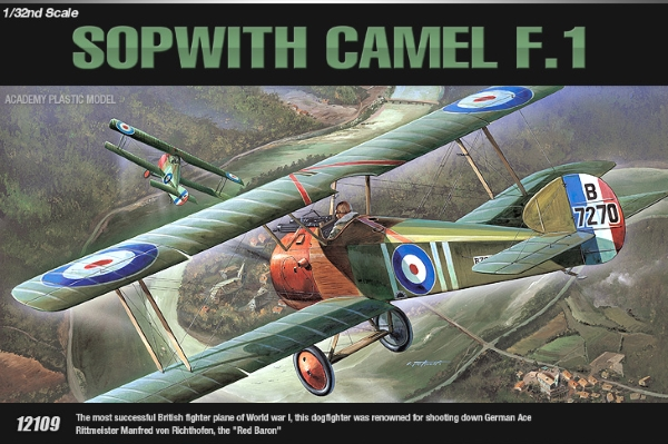Сборная модель Самолет  SOPWITH CAMEL F-1  (1:32)