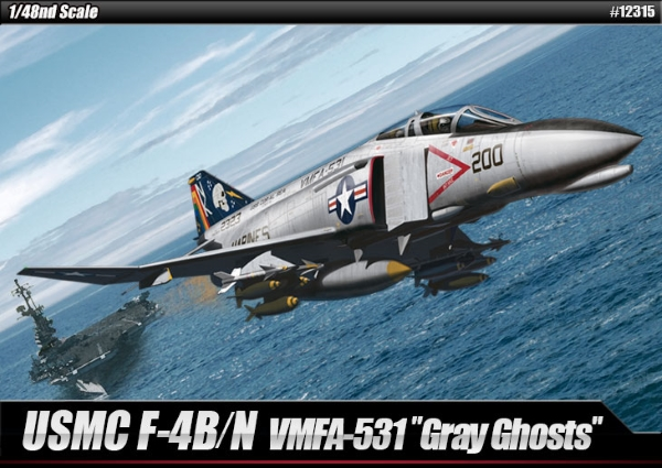 Самолет  USN F-4B/N VMFA-531