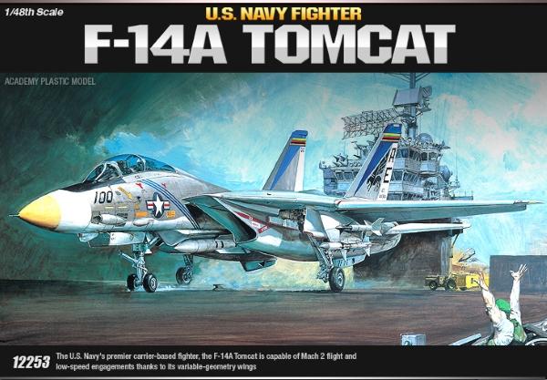Самолёт  F-14A Томкэт (1:48)