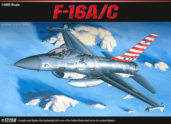 Самолет  F-16A/C FIGHTING FALCON (1:48)
