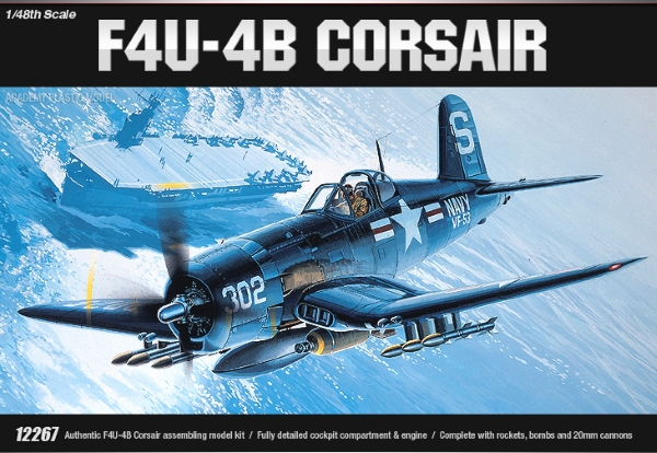 Сборная модель Самолет  VOUCHT F4U-4B CORSAIR (1:48)