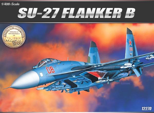 Модель Самолет  S-27 FLANKER B (1:48)