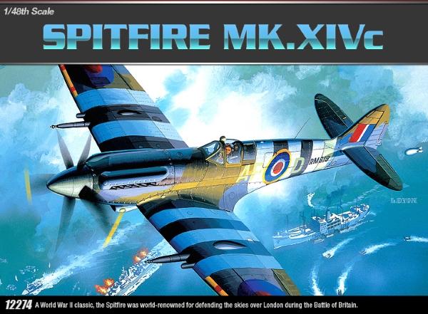 Самолёт  Spitfire Mk.14C (1:48)