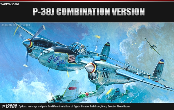 Самолет  P-38E/J/L (1:48)