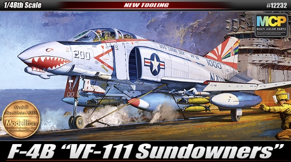 Самолёт  F-4B Sundowners (1:48)