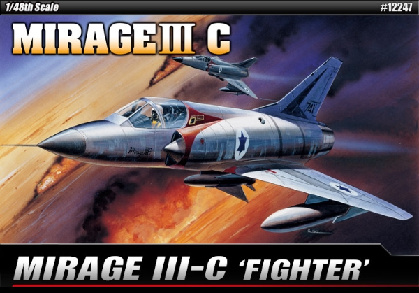 Самолет  MIRAGE III-C FIGHTER  (1:48)