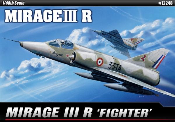 Самолет  MIRAGE IIIR  (1:48)