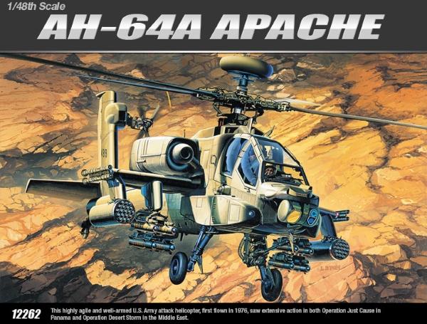 Модель Вертолет AH-64A  (1:48)
