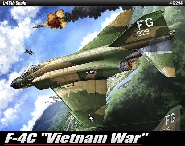 Сборная модель Самолет  USAAF F-4C
