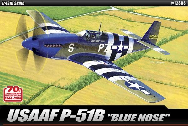 Модель Самолет  USAAF P-51B