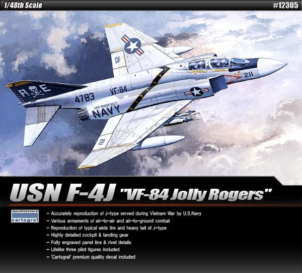 Самолет  F-4J