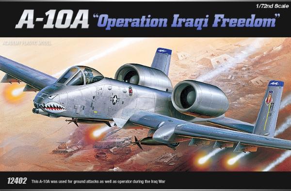 Сборная модель Самолет  A-10