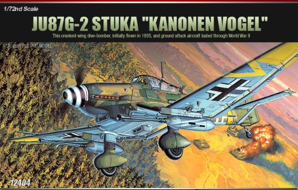 Сборная модель Самолет  Ju-87G-2 Ханс-Ульрих Рудель (1:72)