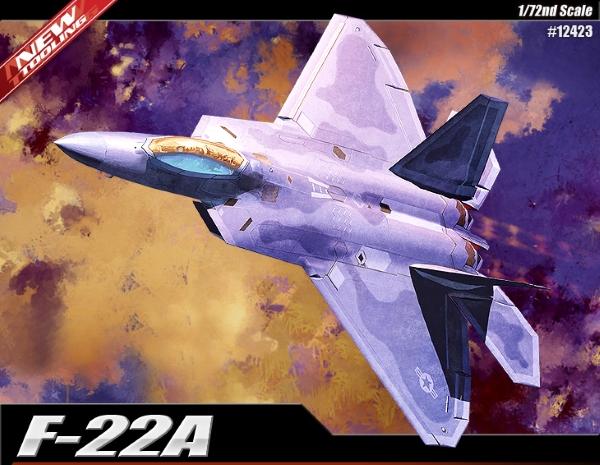 Модель Самолёт F-22 Raptor (1:72)