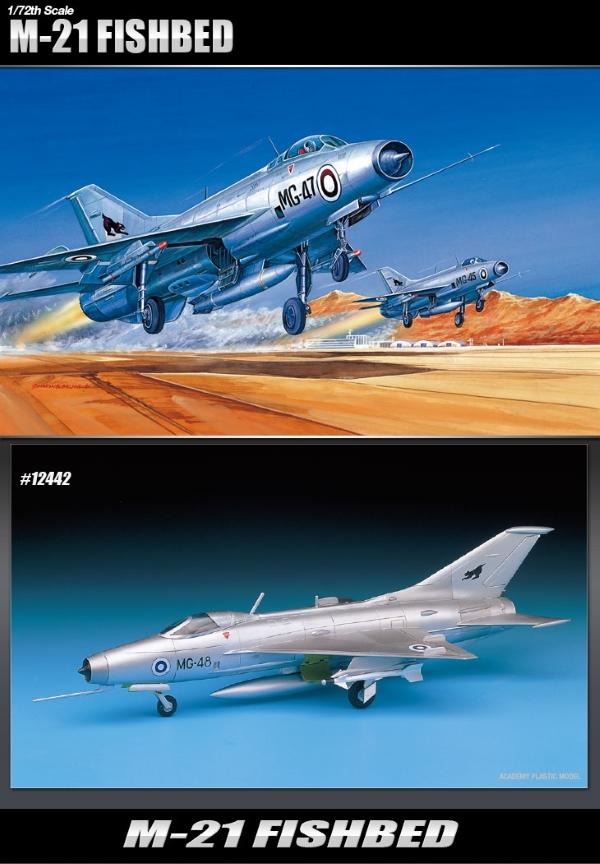 Модель Самолет  M-21 FISHBED  (1:72)