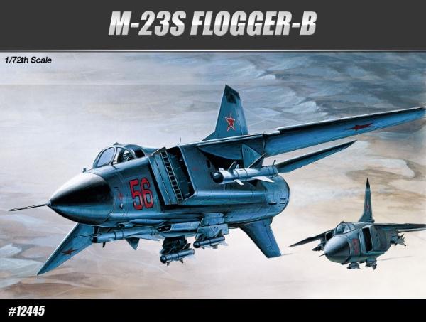 Сборная модель Самолёт  МиГ-23С Flogger-B (1:72)