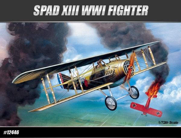 Модель Самолет  SPAD XIII WWI FIGHTER (1:72)