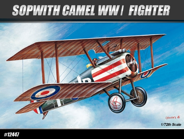 Самолет  SOPWITH CAMEL WWI FIGHTER (1:72)