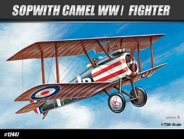 Модель Самолет  SOPWITH CAMEL WWI FIGHTER (1:72)
