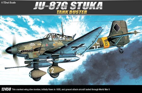 Самолет  JU-87G STUKA