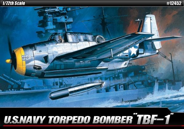 Модель Самолёт  TBF-1  (1:72)