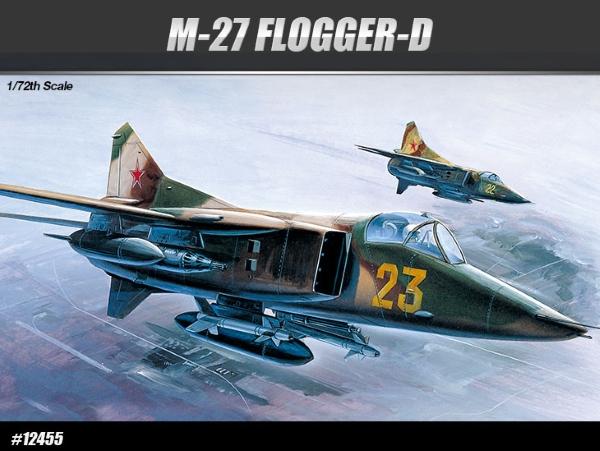 Сборная модель Самолет  MiG-27 FLOGGER-D (1:72)