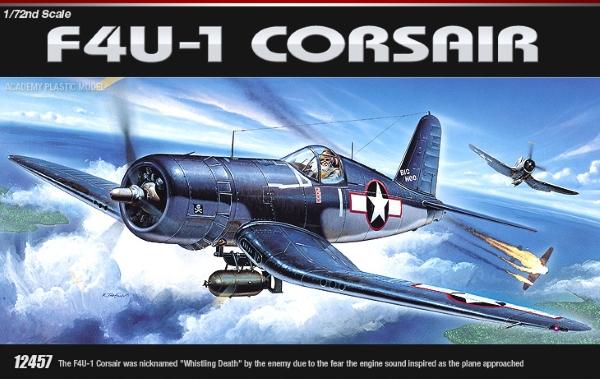 Самолёт  F4U-1  (1:72)