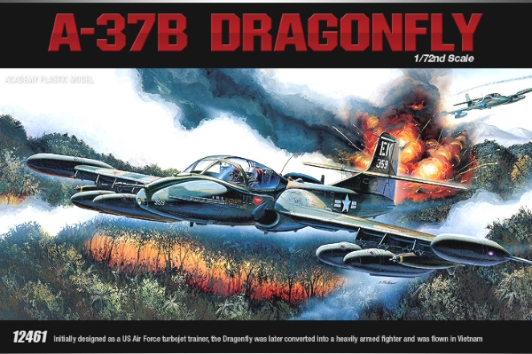 Самолёт  A-37B Dragon Fly (1:72)