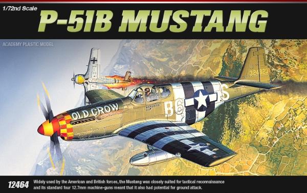Самолёт  P-51B Мустанг (1:72)