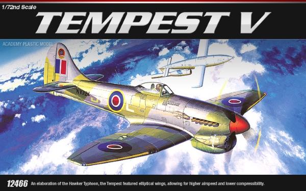 Сборная модель Самолет Tempest V (1:72)