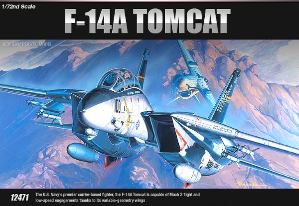 Самолет  F-14A (1:72)