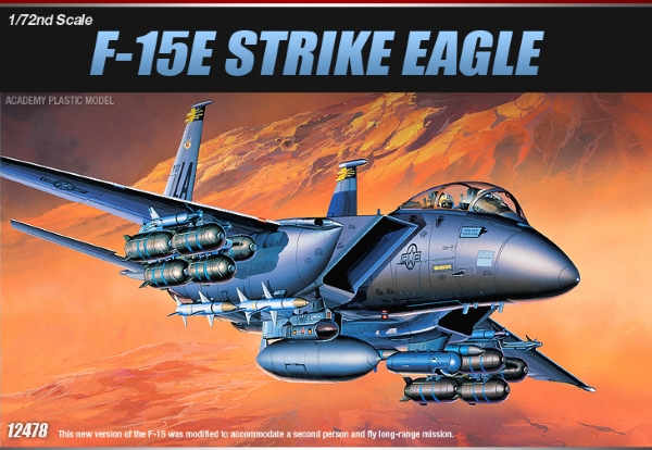 Самолет  F-15E STRIKE EAGLE (1:72)