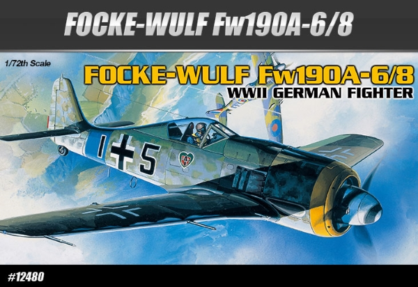Сборная модель Самолет  FOCKE-WULF FW190A-6/8  (1:72)