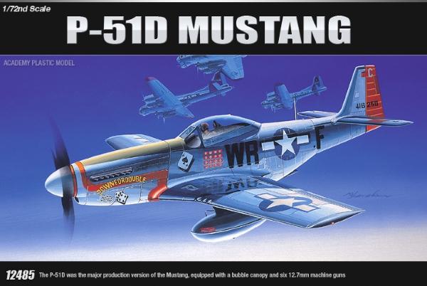 Самолет  P-51D (1:72)