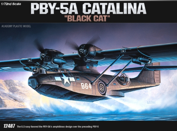 Сборная модель Самолет  PBY-5A (1:72)