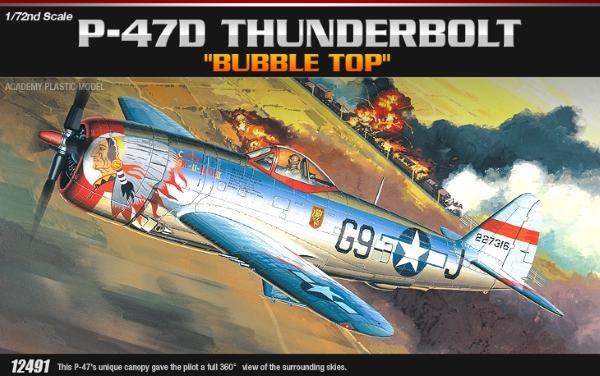 Самолет  P-47D