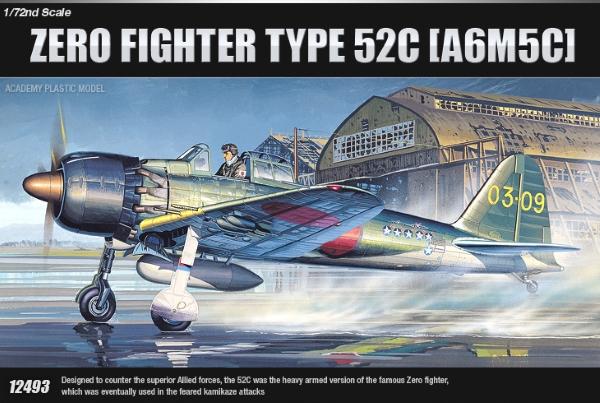 Модель Самолет  A6M5c Zero Fighter type 52c  (1:72)