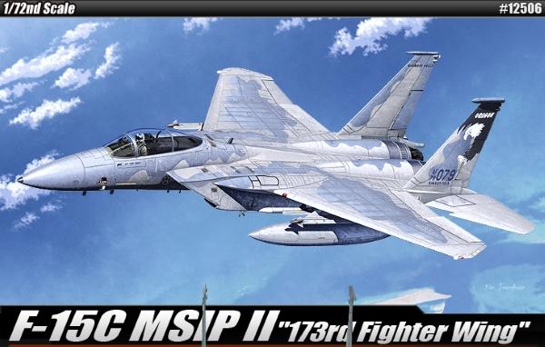 Сборная модель Самолет  F-15C (1:72)