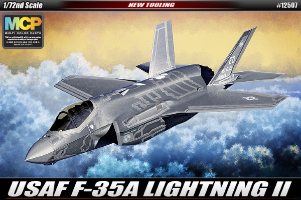 Самолет  F-35A Lightining II  (1:72)