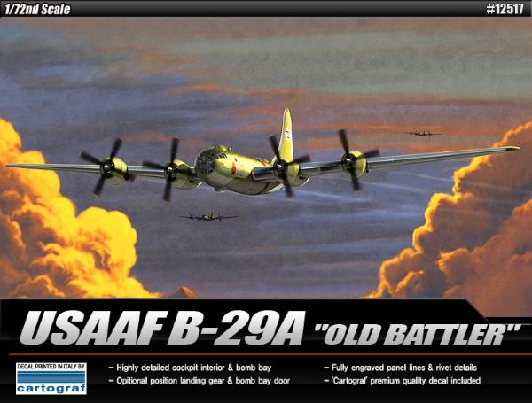 Модель Самолет  USAAF B-29A