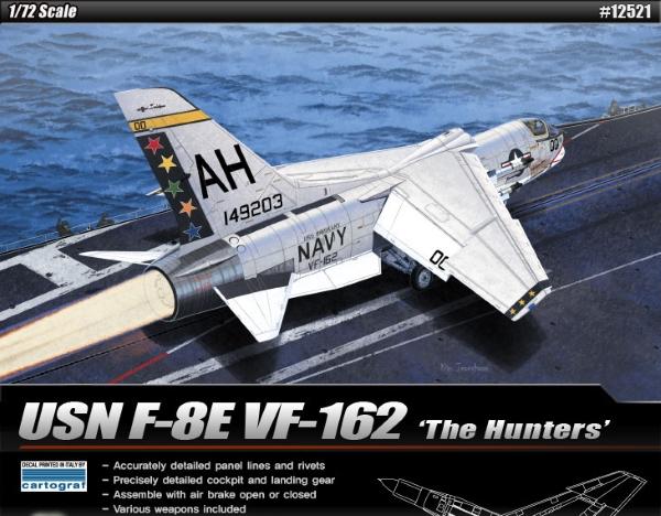 Самолет USN F-8E VF-162