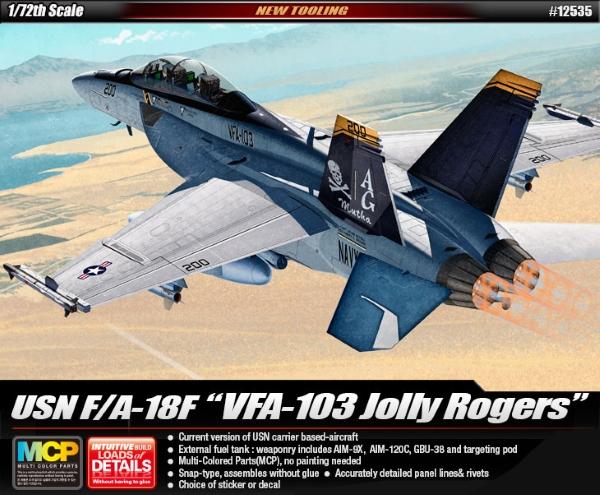 Сборная модель Самолет  USN F/A-18F